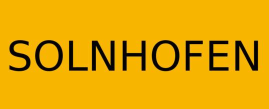 Solnhofen – Namensgeber der Solnhofener Platten