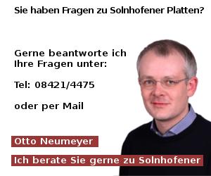 Solnhofer Platten Kontakt
